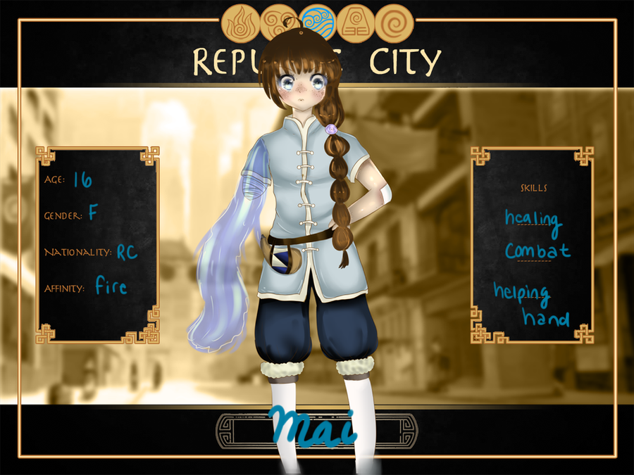 RC  Application: Mai by zeldatwilightfreak