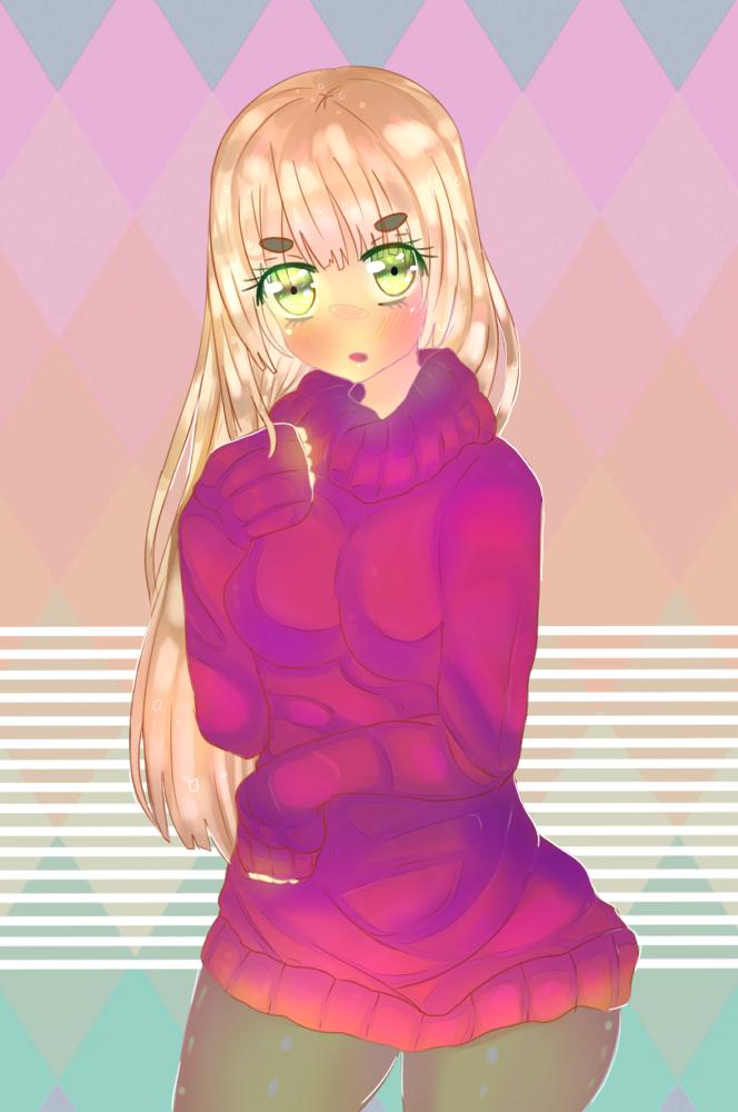 Sweater Gurl by zeldatwilightfreak