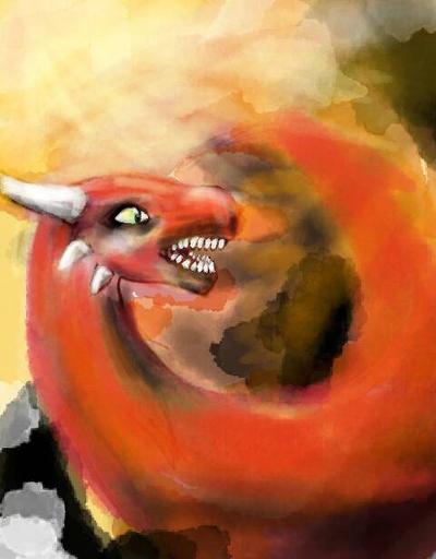 fire dragon by FurlaRiry2002