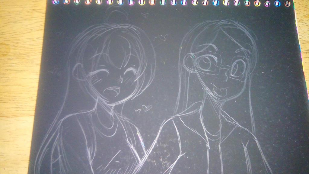 Random Sketch  by HanaSakune