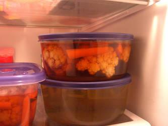 Cauliflower Pickles by liyehuku