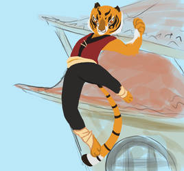 Tigress by simpletouhoudrawer