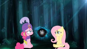 What is Pinkie Seeing?? - MLP (wallpaper)