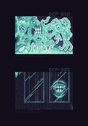 Pixel Quilt - Scp