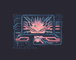 Pixel Quilt - Boss Fight