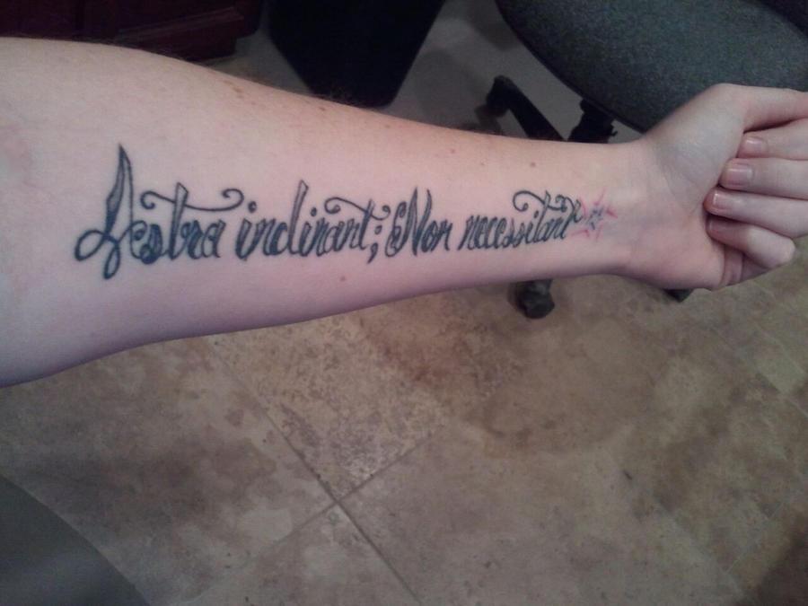 Forearm tattoo...