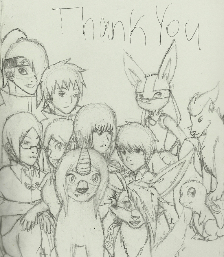 A Thank You to Fandoms That Made Me by Ninaiso