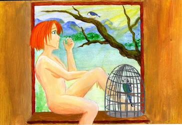 Draussen ist Freiheit by Catka