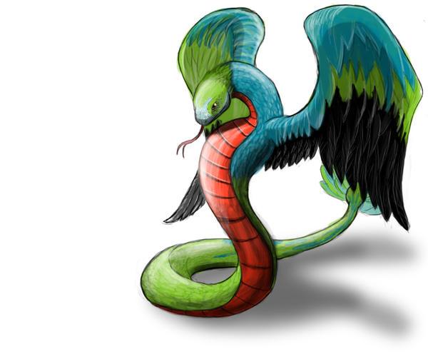 Quetzalcoatl by superbill22