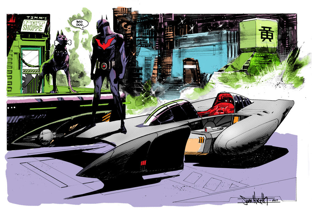 Seangordonmurphy's Batman Beyond by superbill22