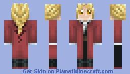 Edward Elric Minecraft Skin by McDuffy