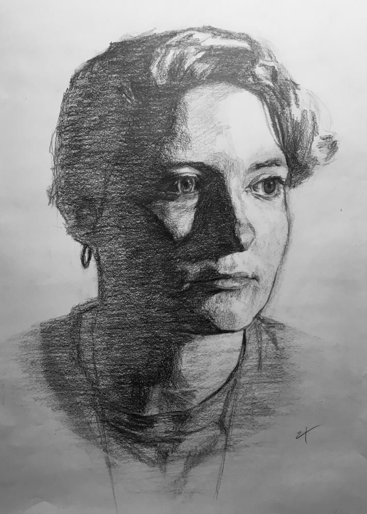 Self-portrait by McDuffy