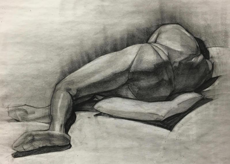 Figure Drawing by McDuffy
