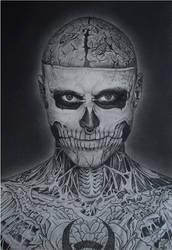 Rick Genest by DaniiSantos