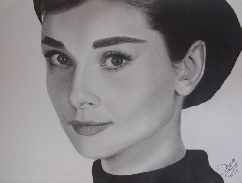 Audrey Hepburn by DaniiSantos