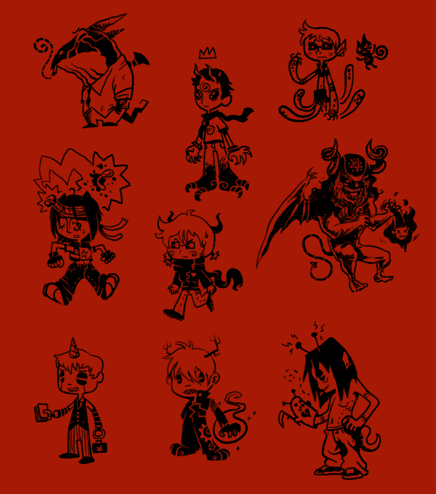 Doodle Fun Characters