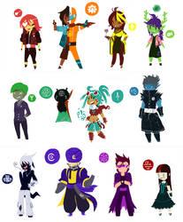 Haasten Character Designs