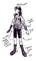 Dinah Costume Design
