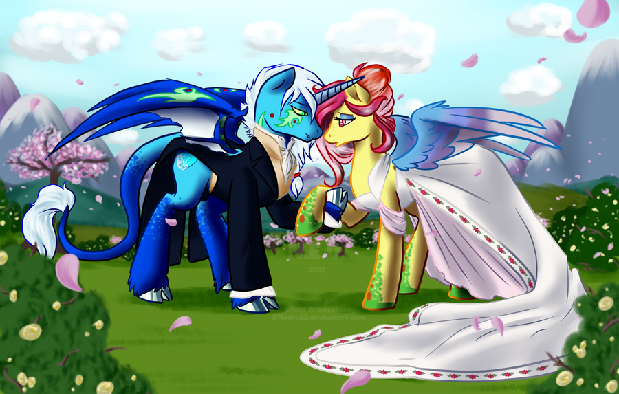 Spring Wedding by XNedra22