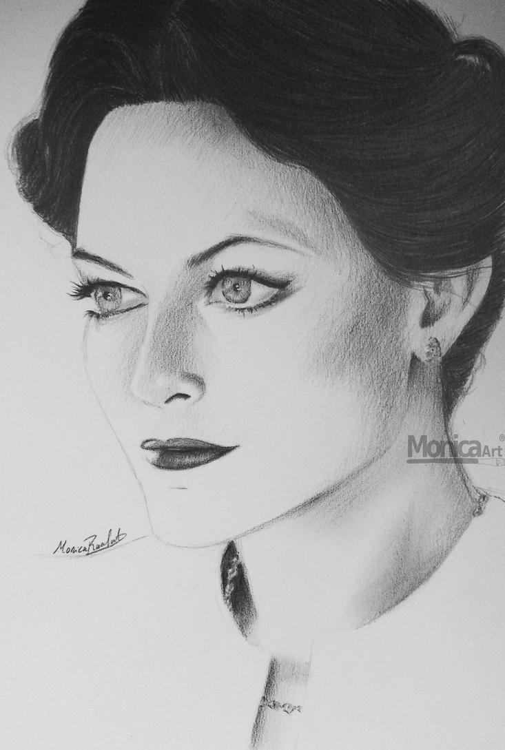 Irene Adler portrait by monicasunlight