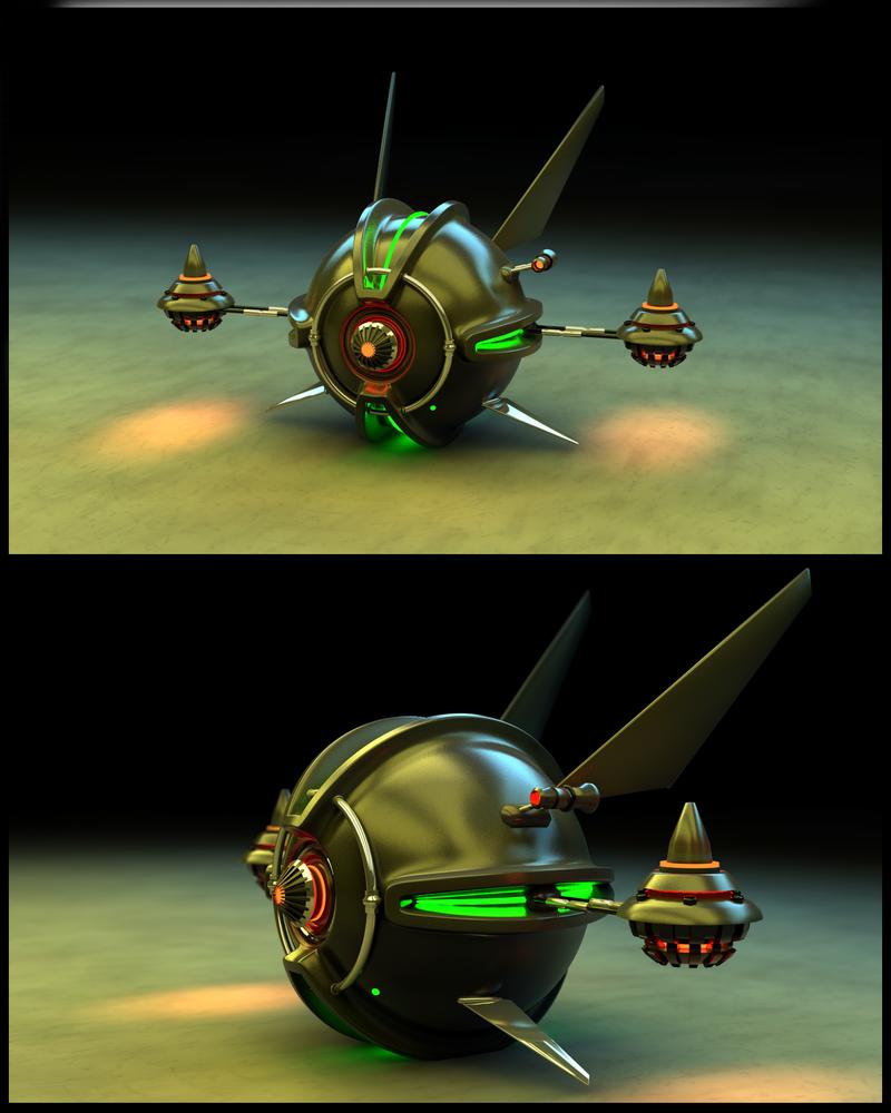 Flying Robot by danielkrull