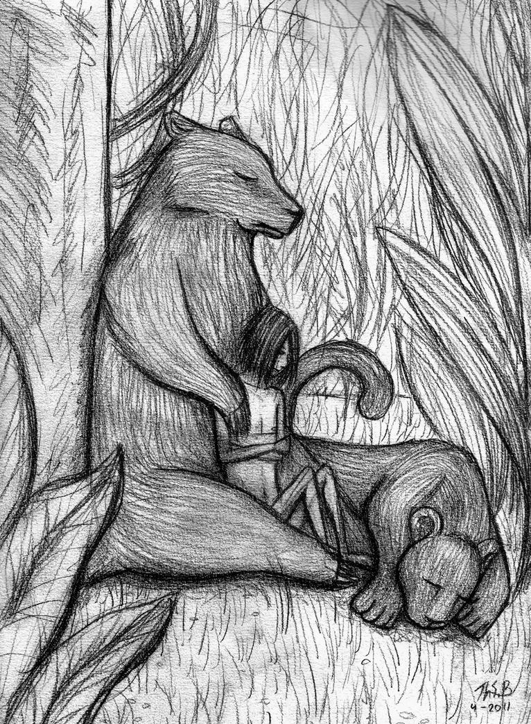 Jungle book - lines by Super-kip