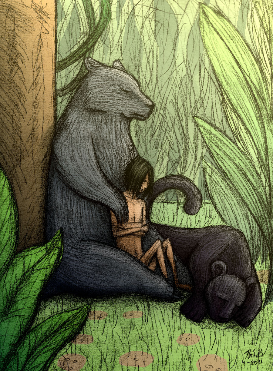 Lazy afternoon - Jungle Book