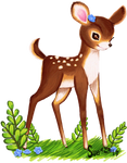 Commission - Oh deer