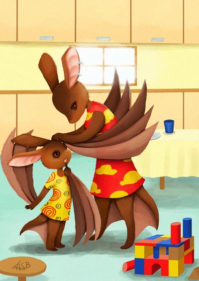 Tale of little bat 1 by Super-kip