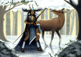 Winter Goddess by Super-kip