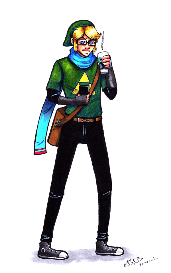 Hipster Link by Super-kip