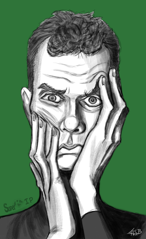 Doug Jones Caricature