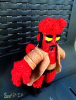 Amigurumi - Hellboy by Super-kip