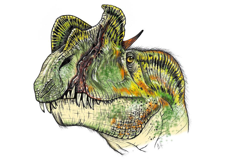 Dilophosaurus Color By Christoferson On Deviantart