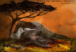 Carcharodontosaurus The Goliath