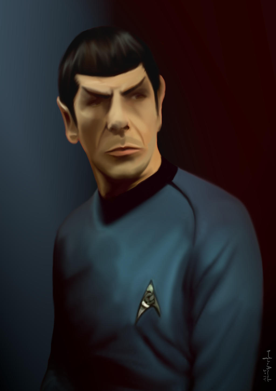 Mr. Spock by jekyllintherain