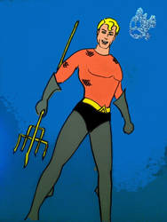 Aquaman by lifeinblues