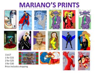 Mariano Prints by lifeinblues