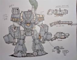 Morgulian War Golem/Wanderpanzer