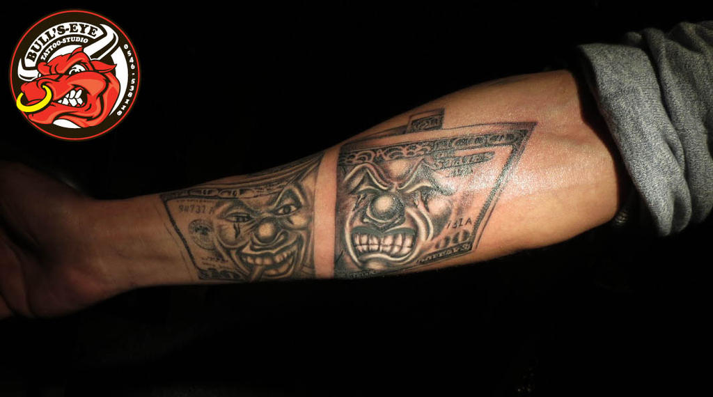 100 dollar bill tattoos stencil pictures to pin on for 20 dollar tattoos