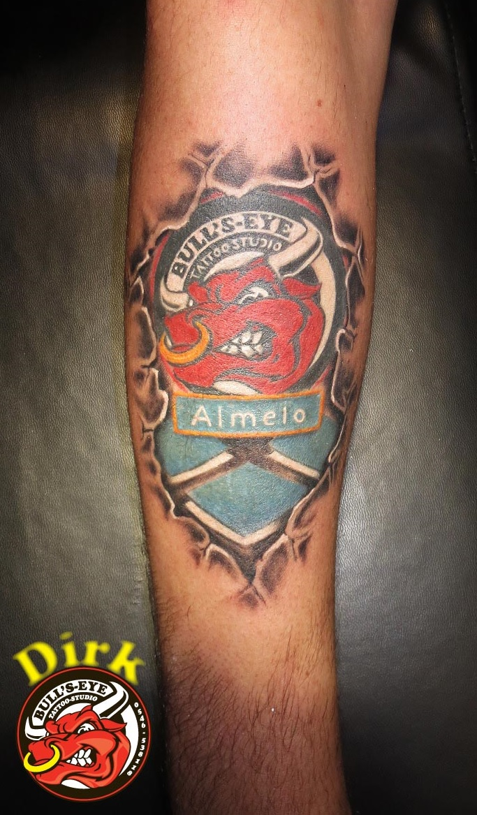 Bullseye Tattoo Studio Almelo Tattoo By Bullseyetattoo On