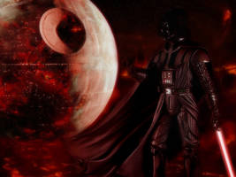 Darth Vader - Death Star by Shadrak