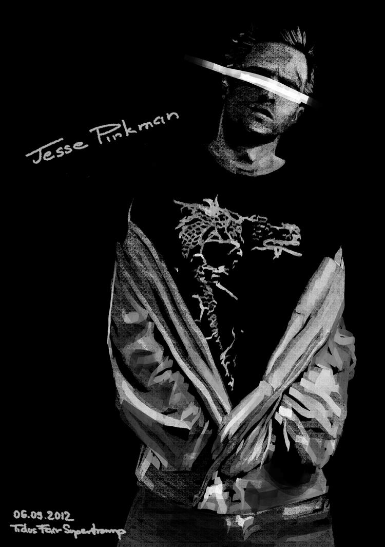 Jesse Pinkman by T-F-Supertramp