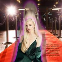 Anya Taylor Joy shrinks on the red carpet