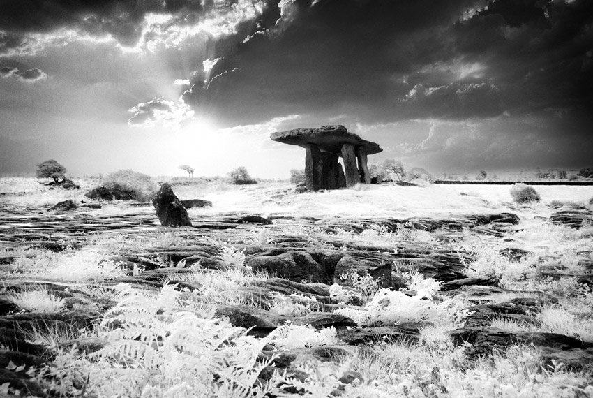 Poulnabrone Wedge Tomb by seancoetzer