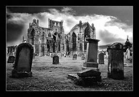 Melrose Abbey by seancoetzer