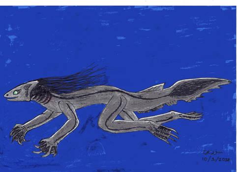 Frilled shark Valin