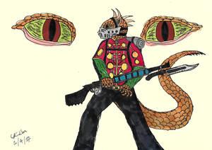 Kraikarian soldier
