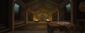 Interior Environment Concept 2 by CraigHodgesArt