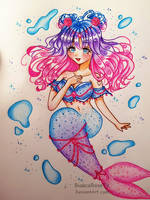 [OC] Mermaid Emica by BiancaRoseTV